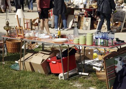 Flohmarkt für Groß und Klein ein Erlebnis